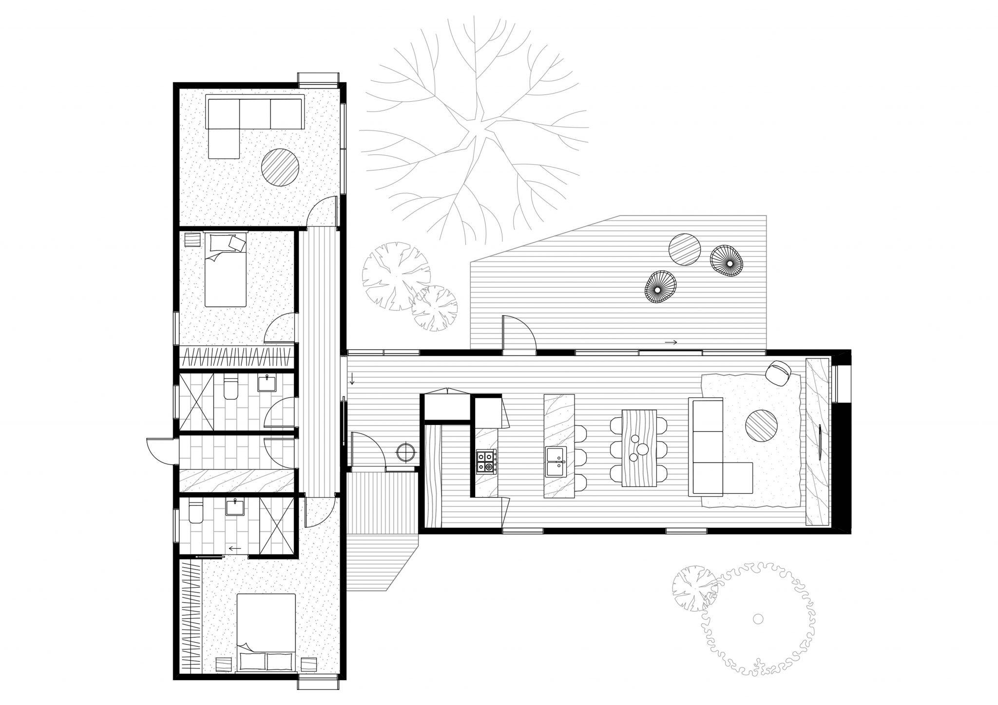 Axel floor plan