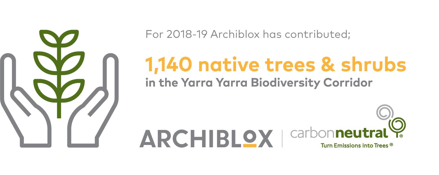 archiblox tree planting statistic