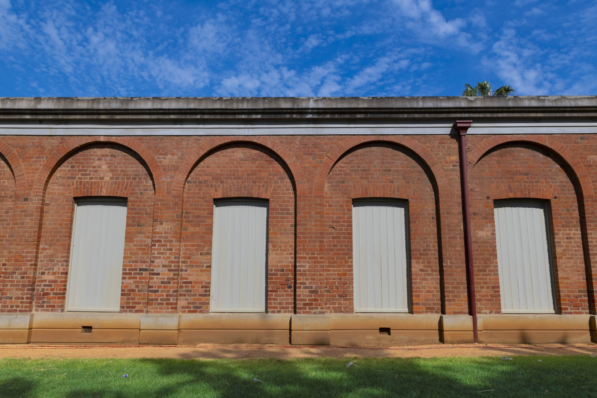 old Castlemaine arch building