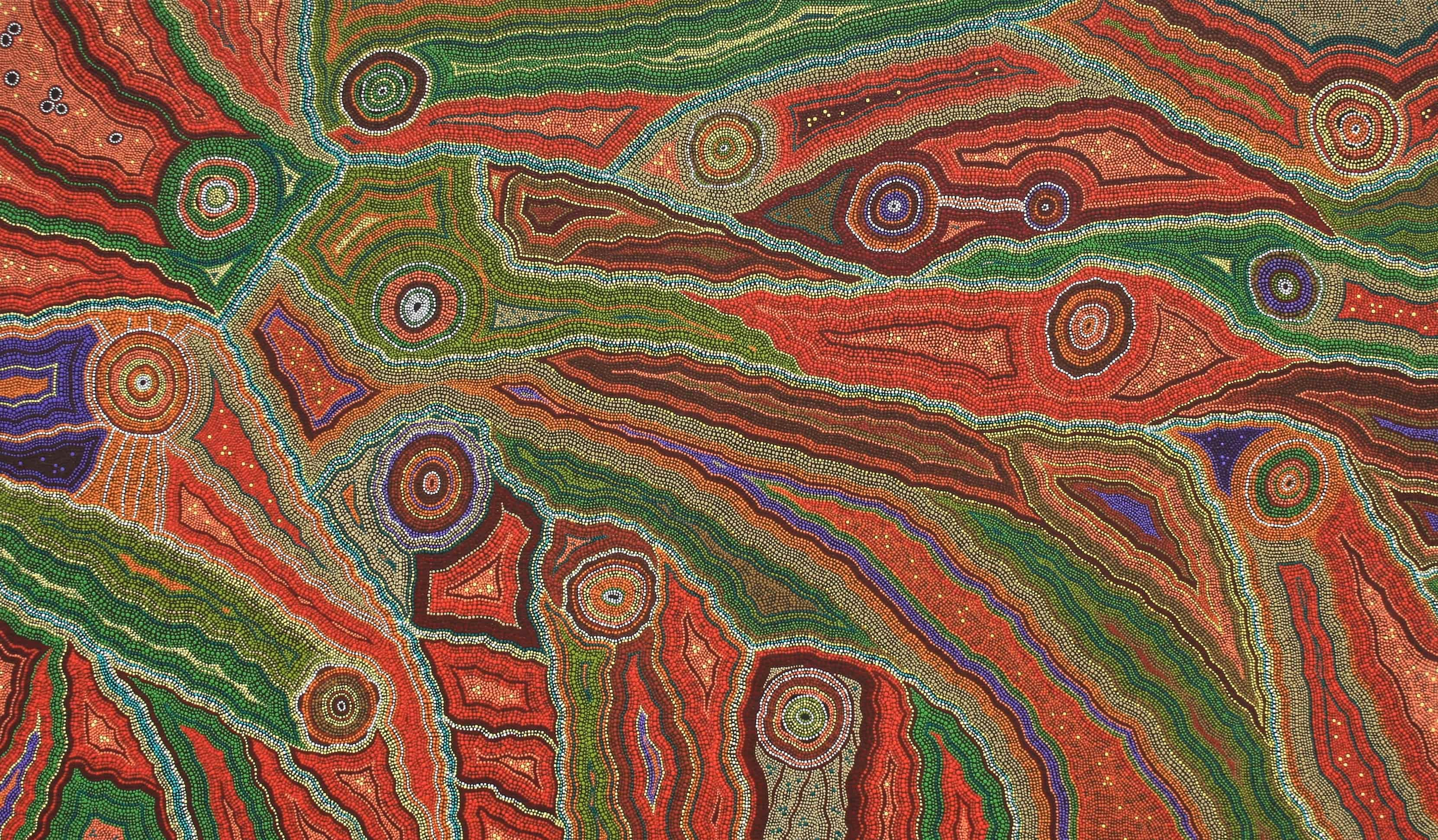 local aboriginal artwork - Gamilaraay
