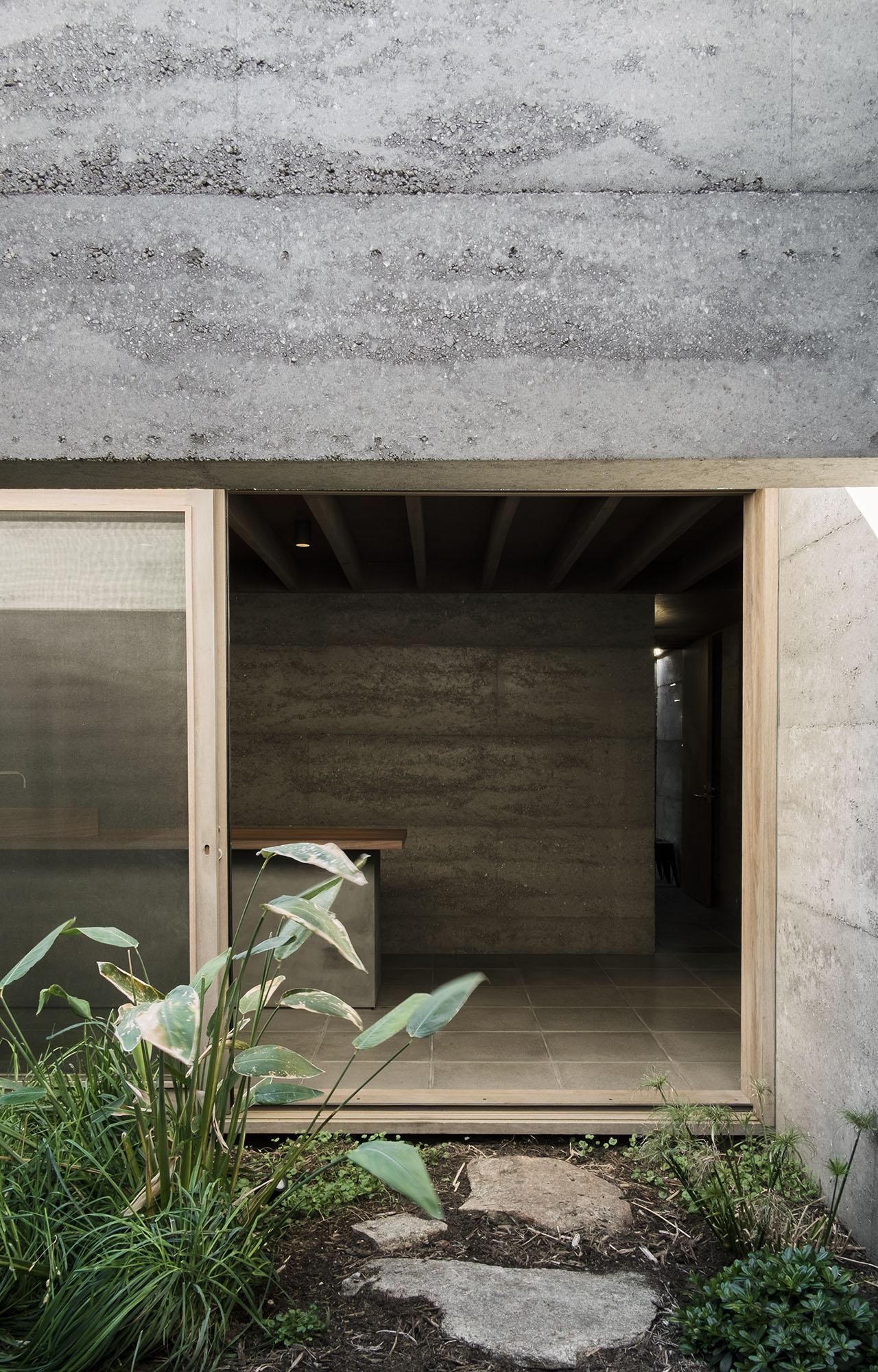 cloister house concrete example