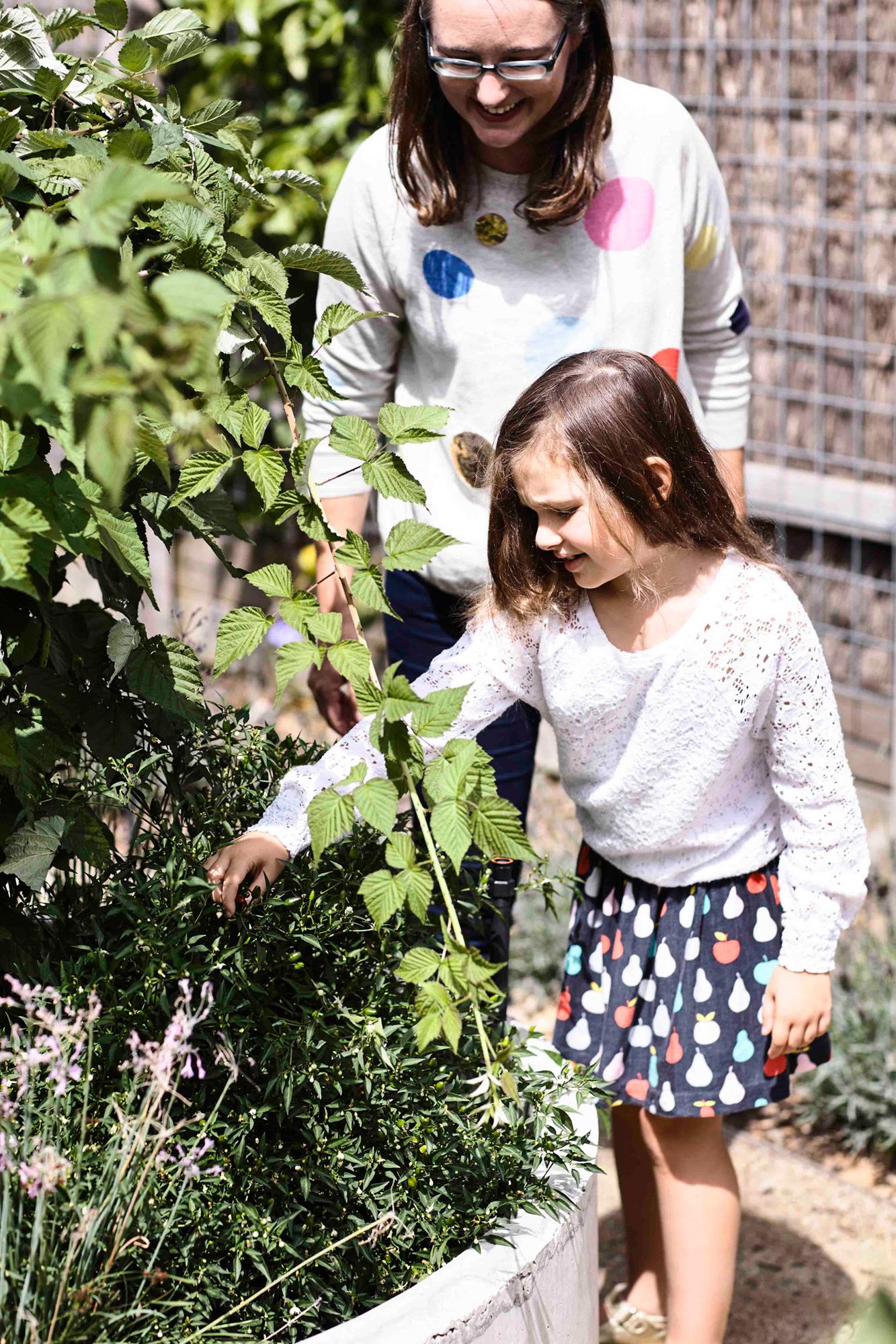 flinders house garden image
