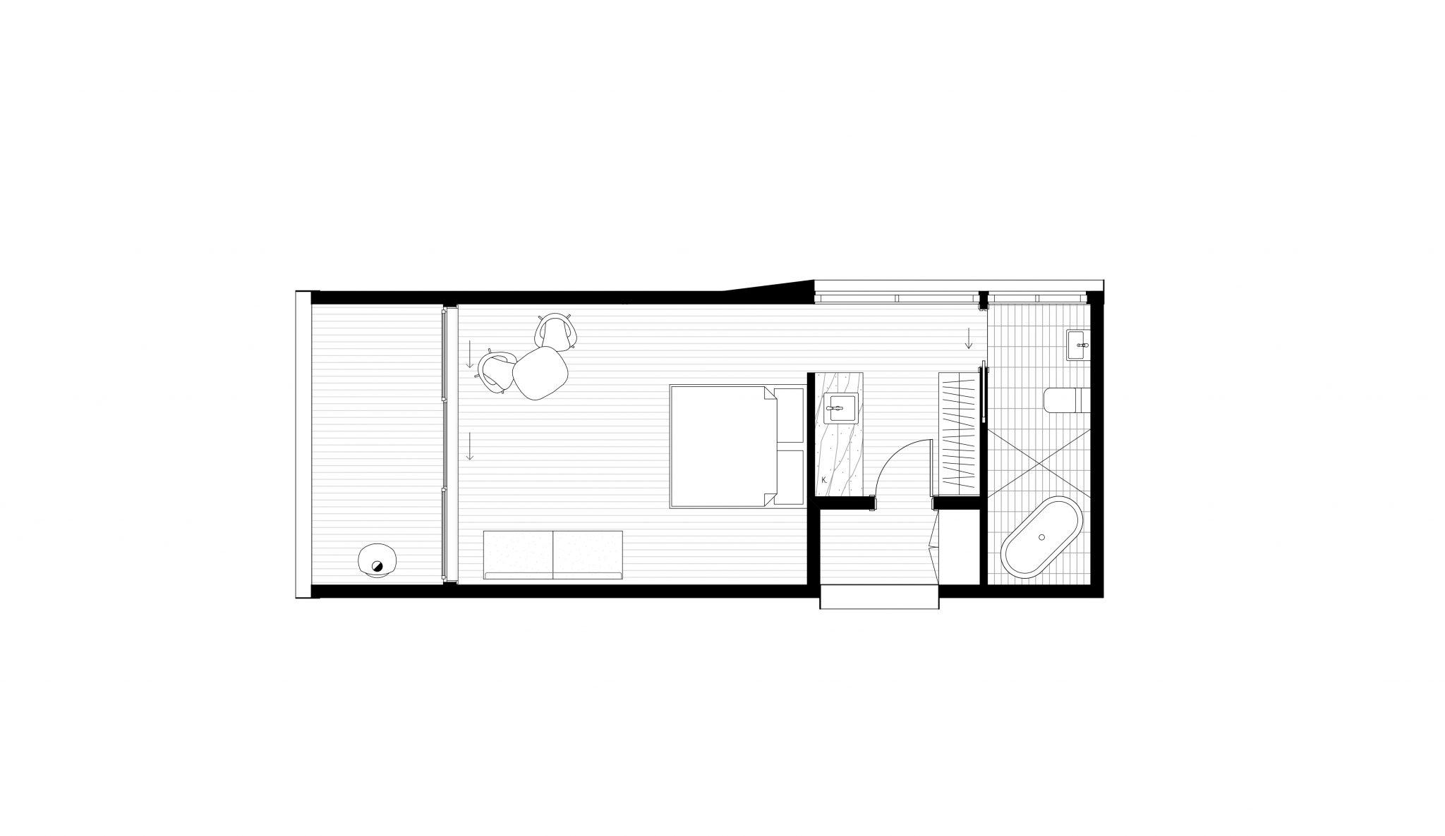 floor plan for eco pod design
