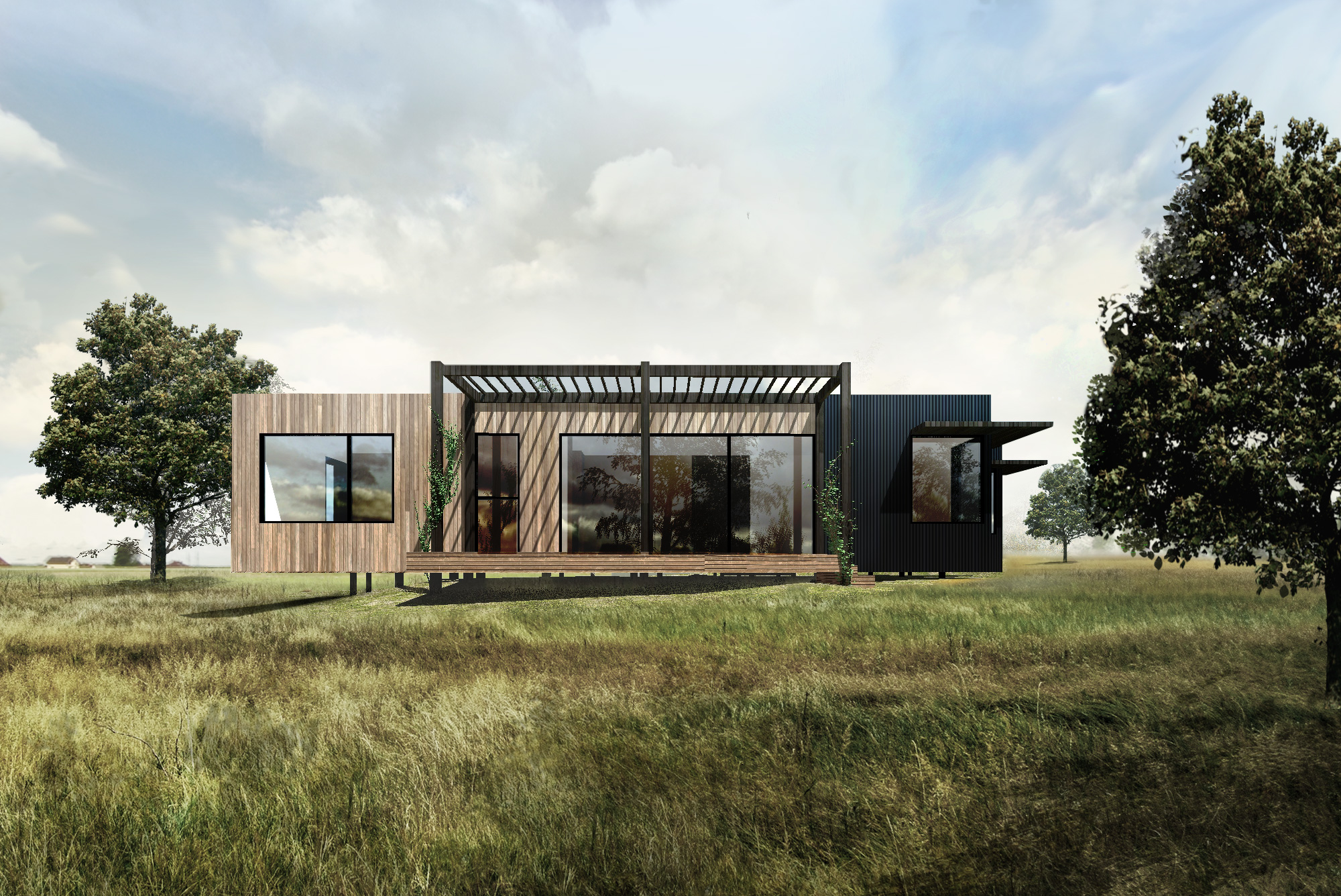 chewton house render