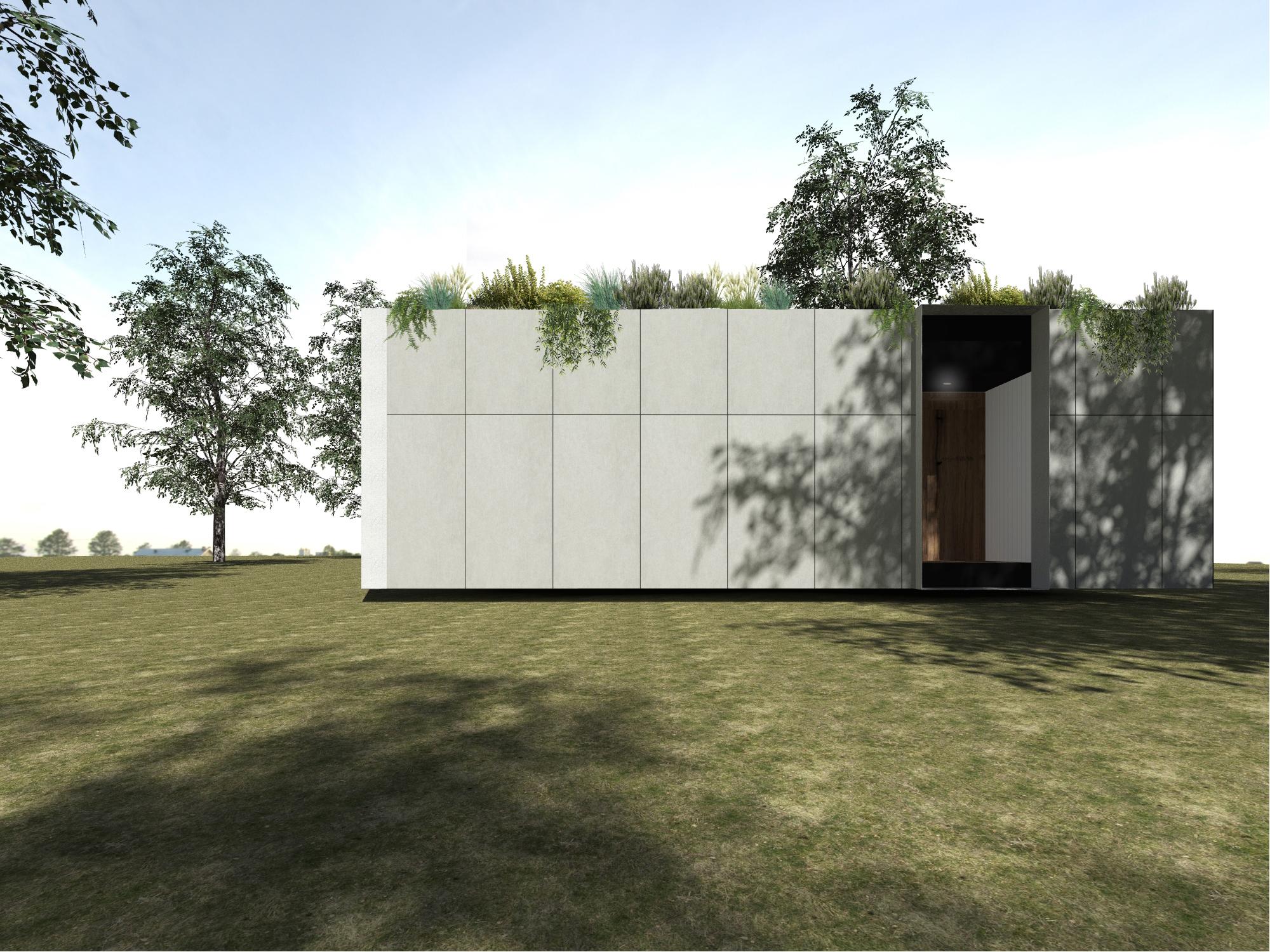 winery eco pod exterior image