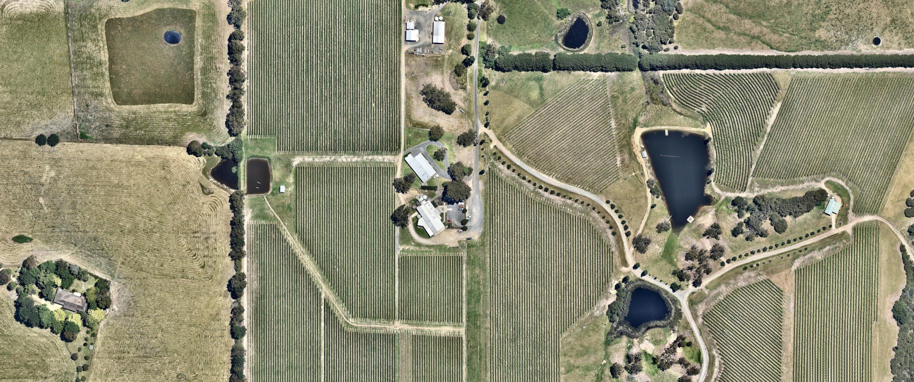 winery aerial site image