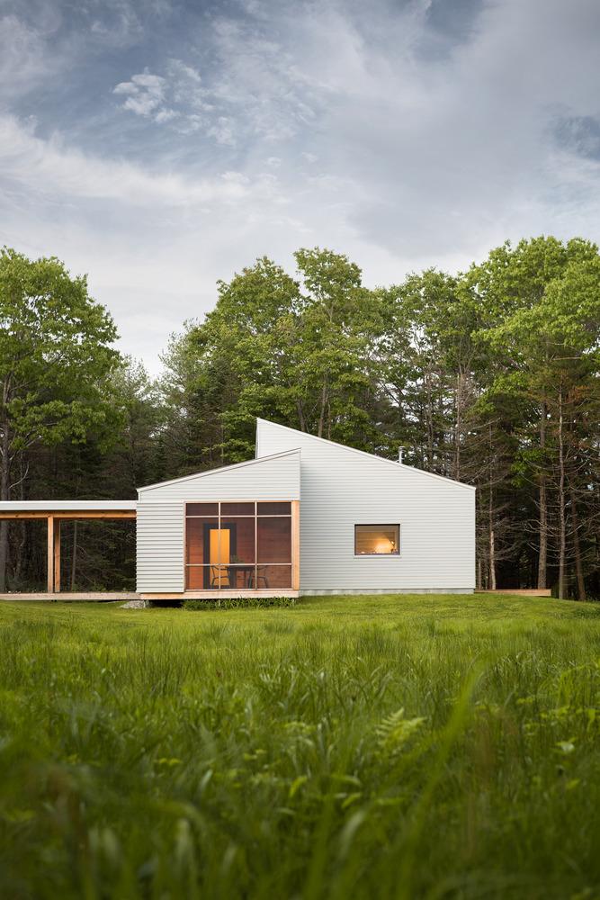 cousins river house - passive design example