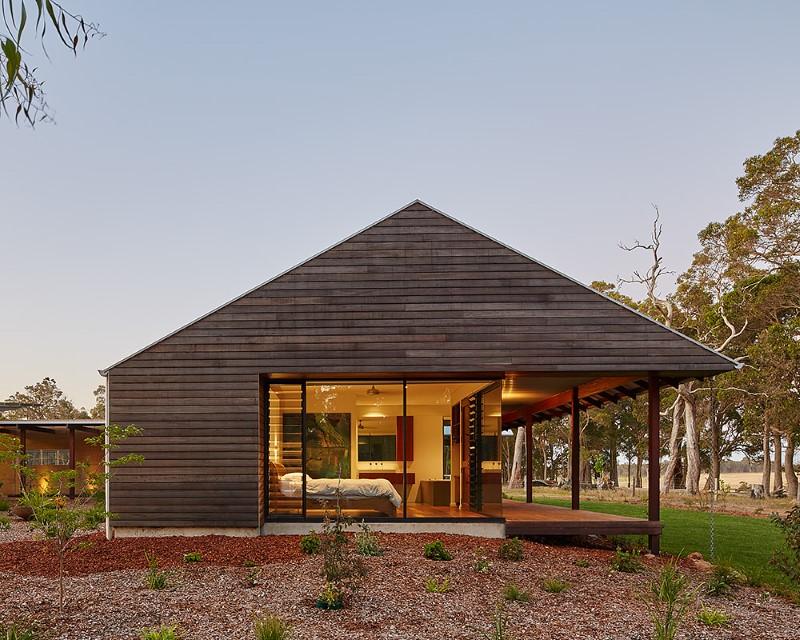 modern australian passive farmhouse image
