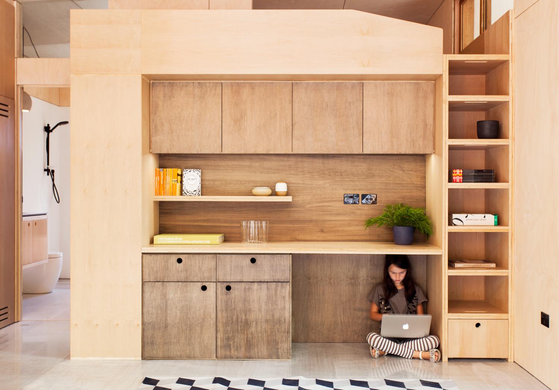archiblox carbon positive house interior image