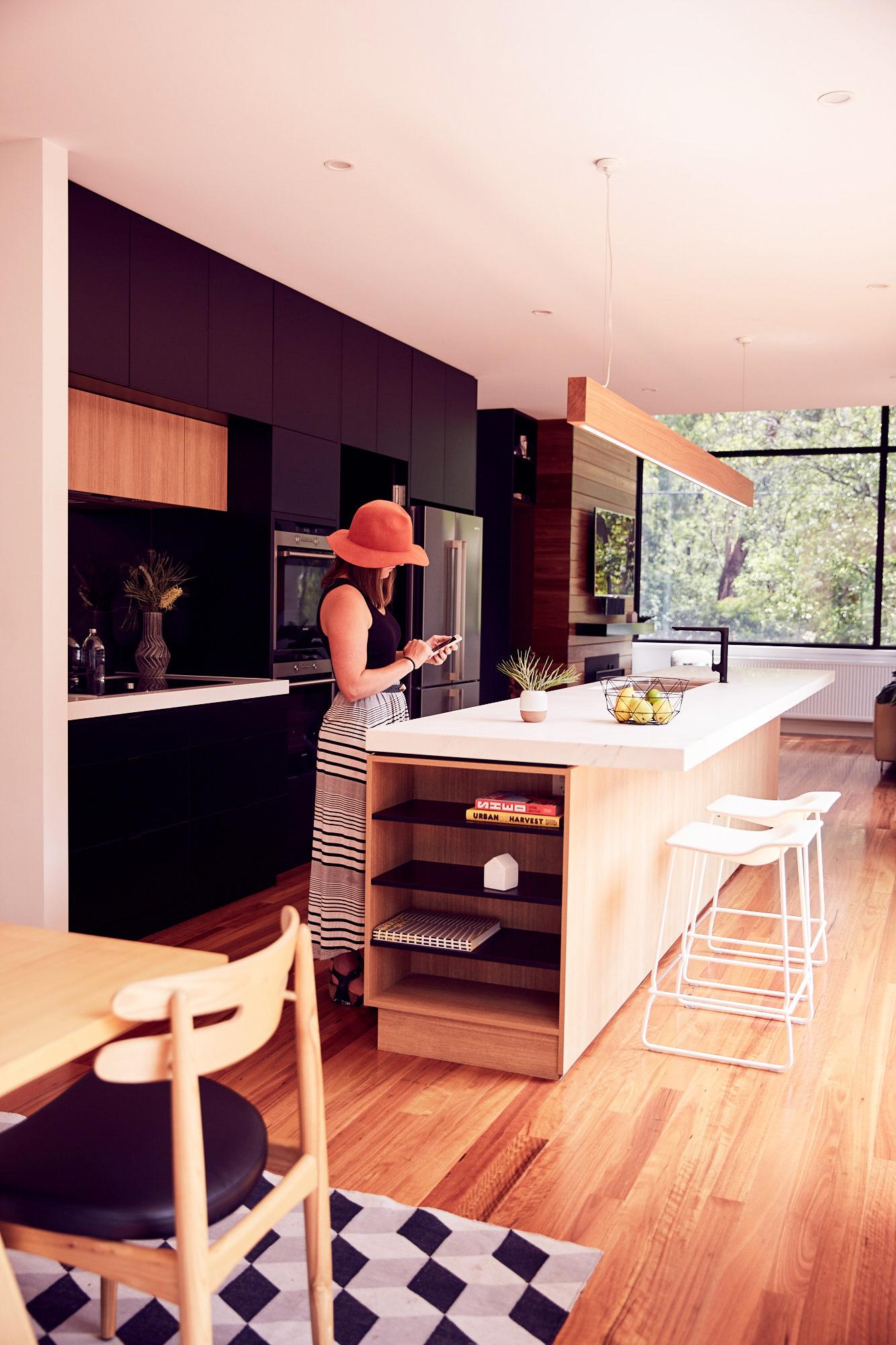 archiblox blackburn house open plan kitchen example