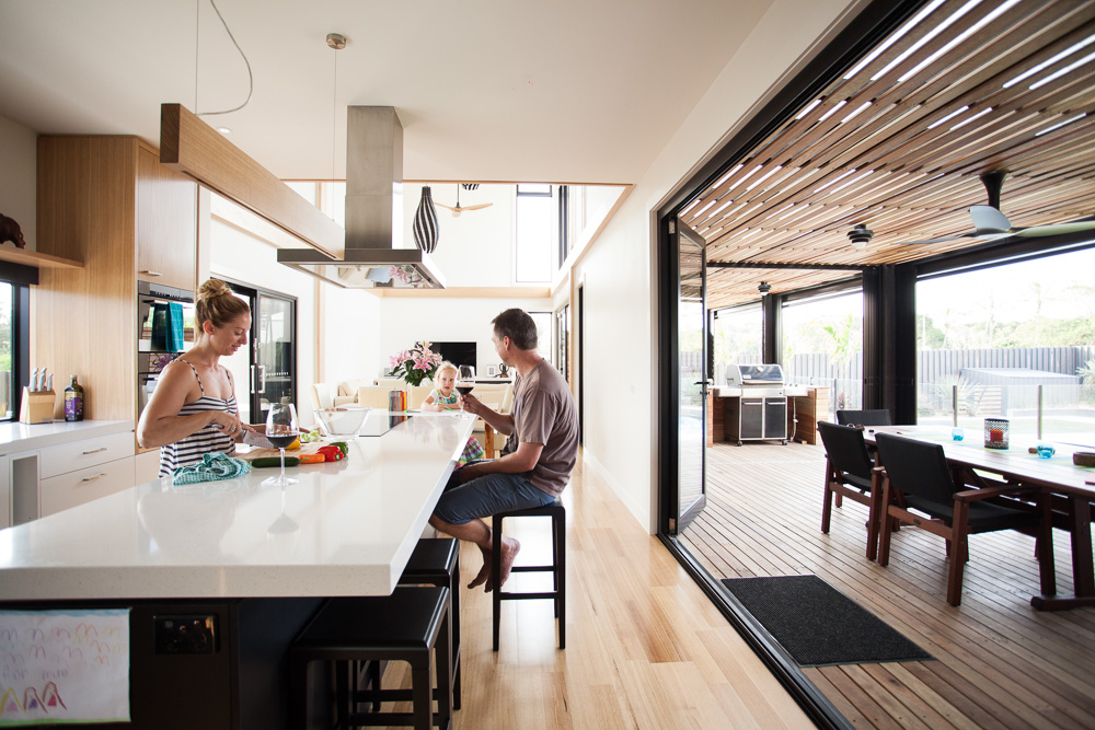 family - byron bay house