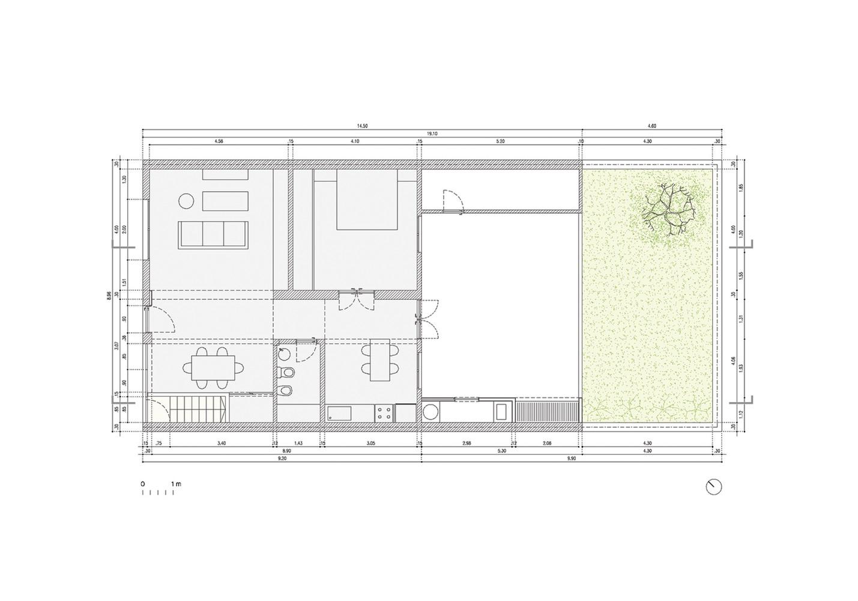 Silvina & Omar House floor plan