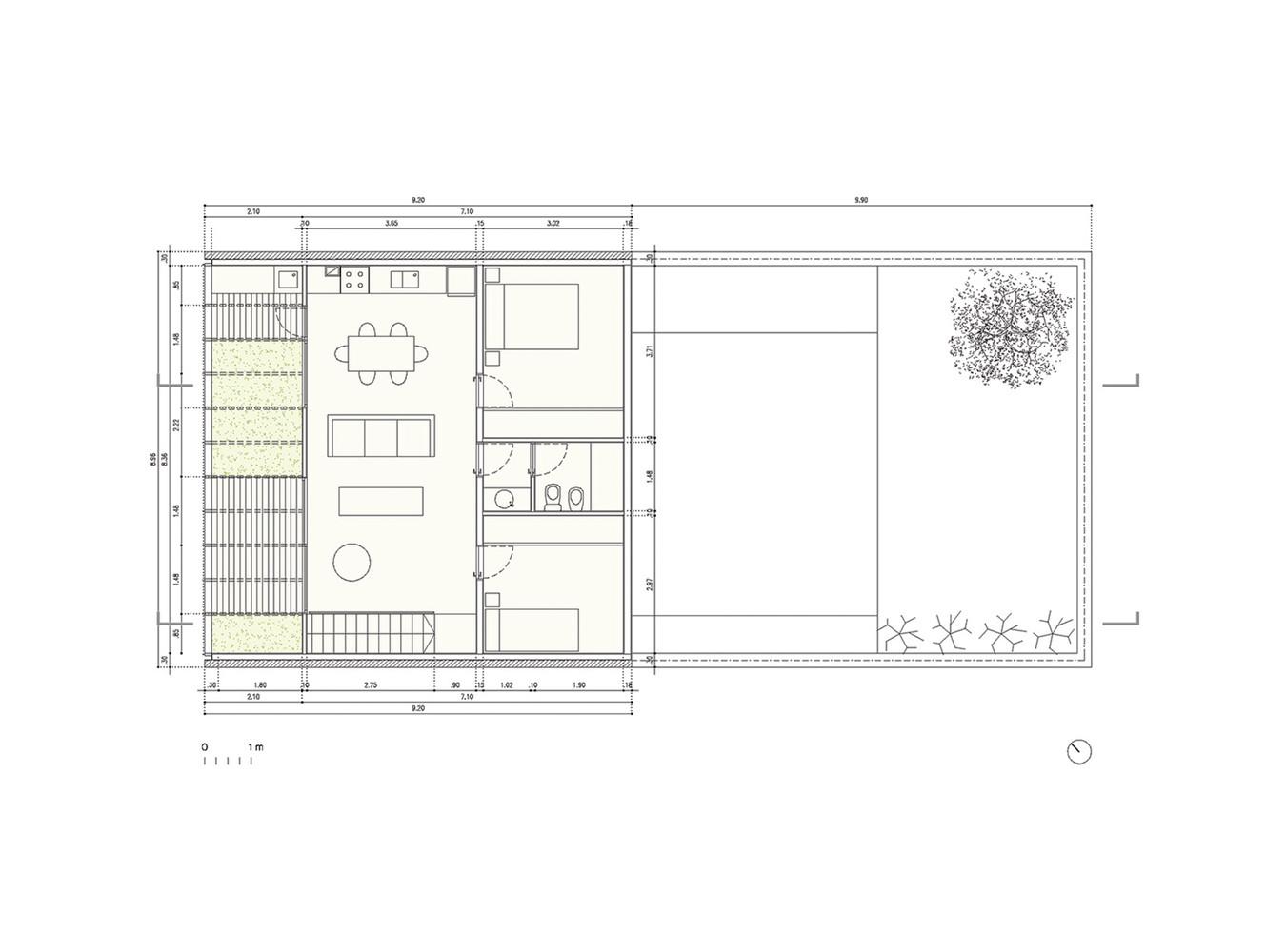 Silvina & Omar House floor plan 2