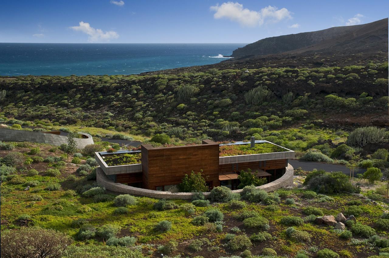 Bioclimatic Dwelling Tenerife Exterior