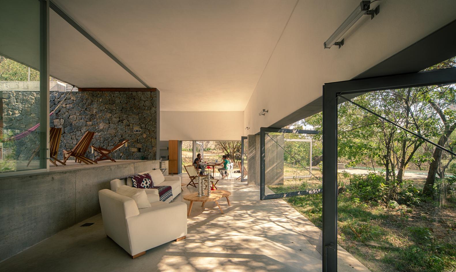 Casa Meztitla interior view