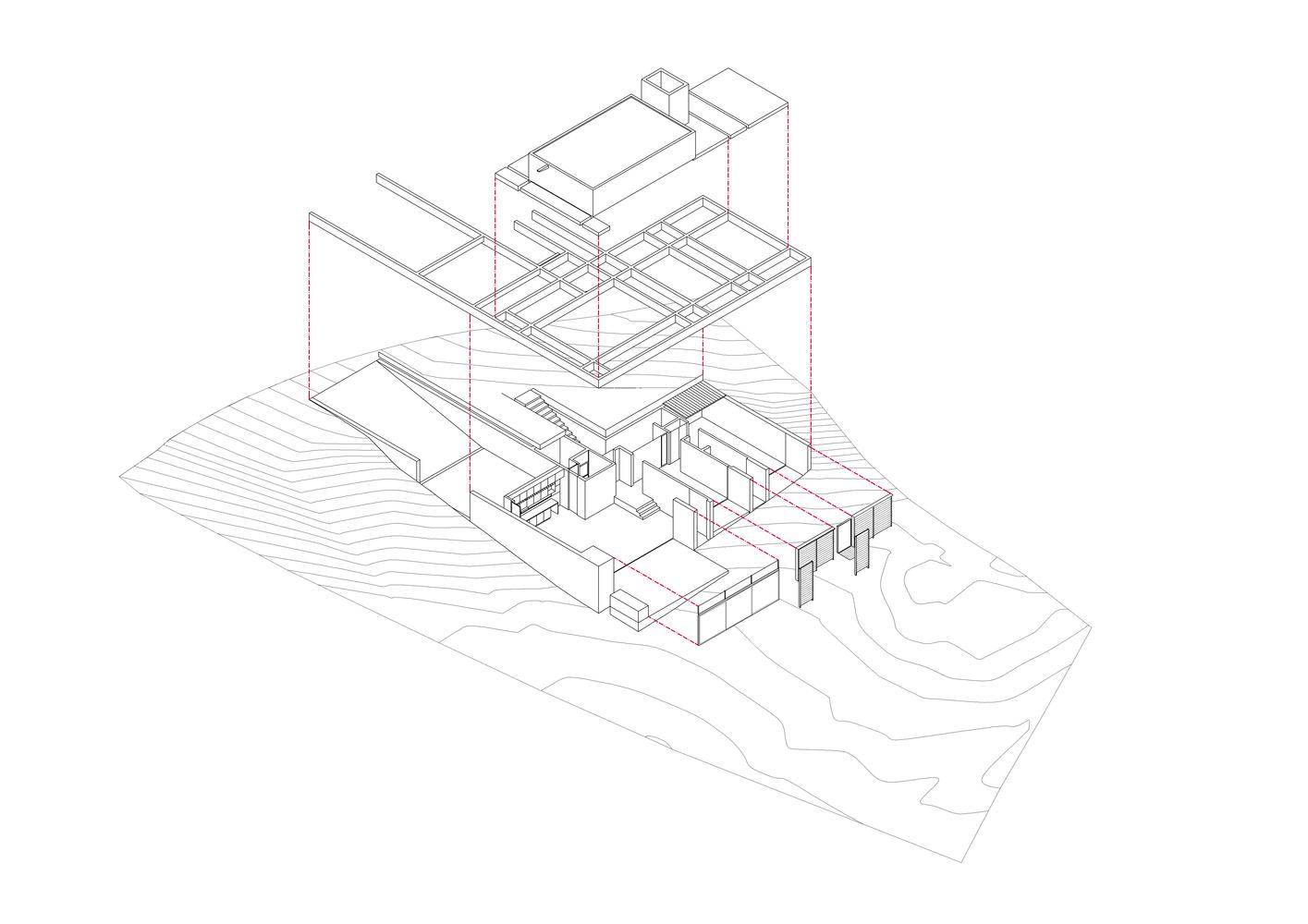 GPL House isometric plan view