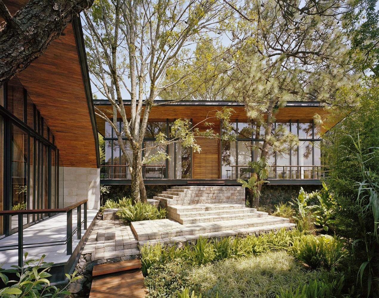Casa en el bosque Exterior View