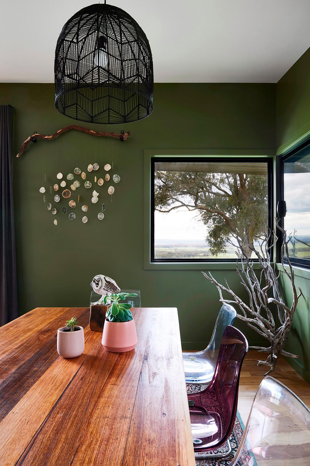 archiblox fish creek house interior dining room