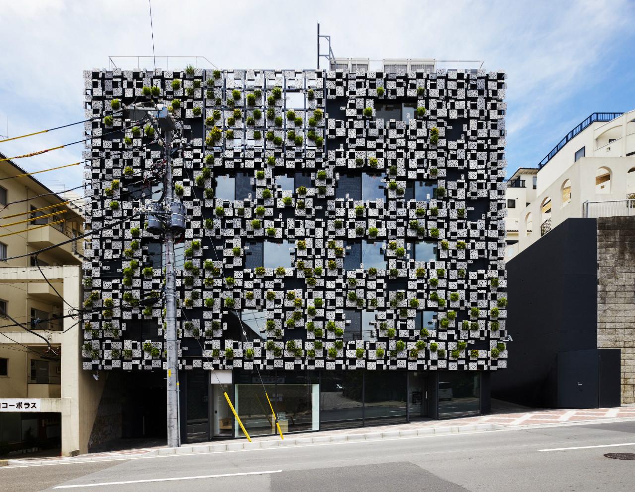 green cast exterior building image