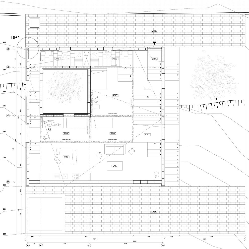 snow house square floor plan