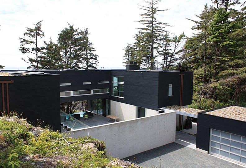 tofino prefab house exterior image