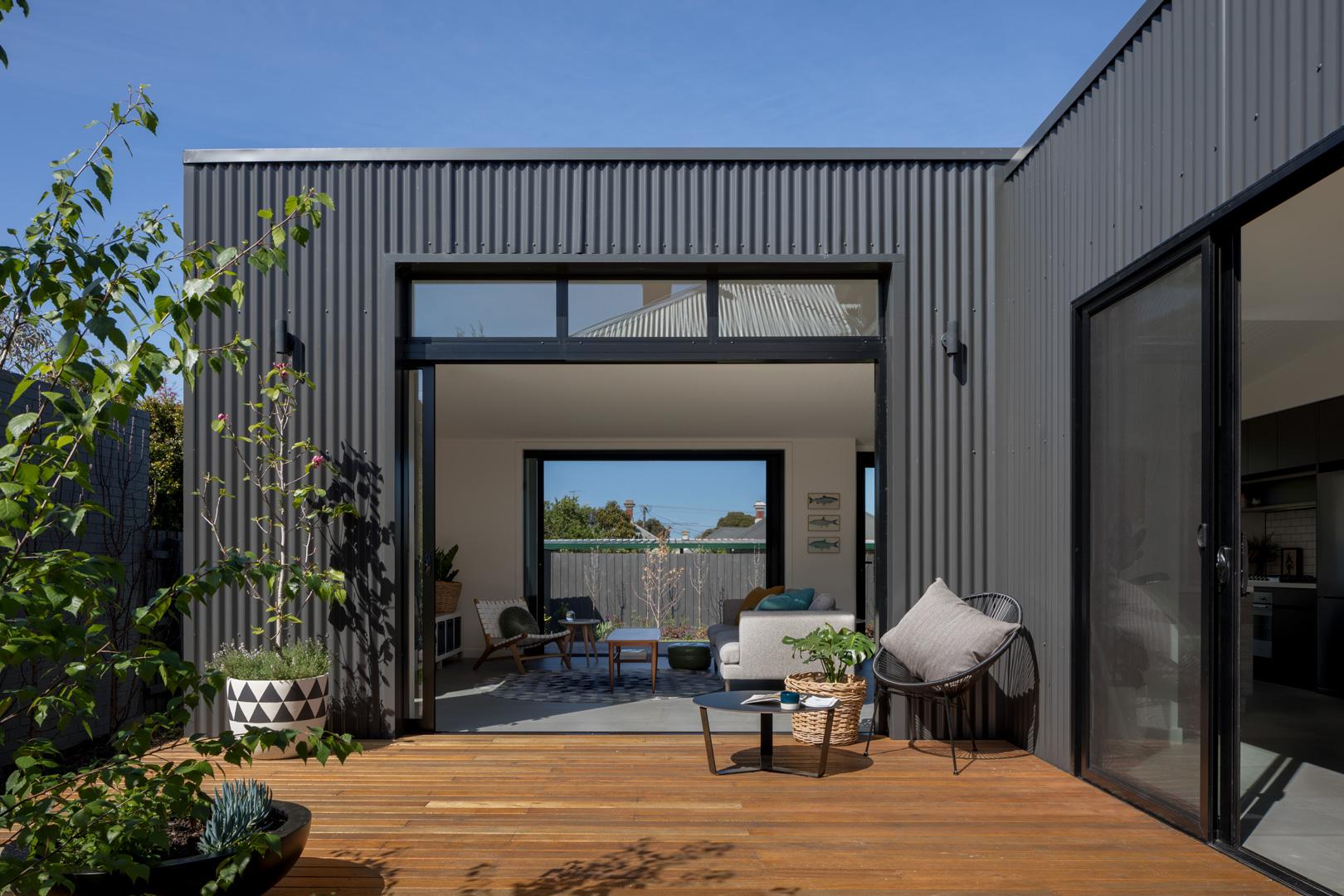 archiblox brunswick house exterior deck